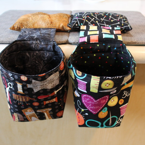 Pin Cushion Scrap bag