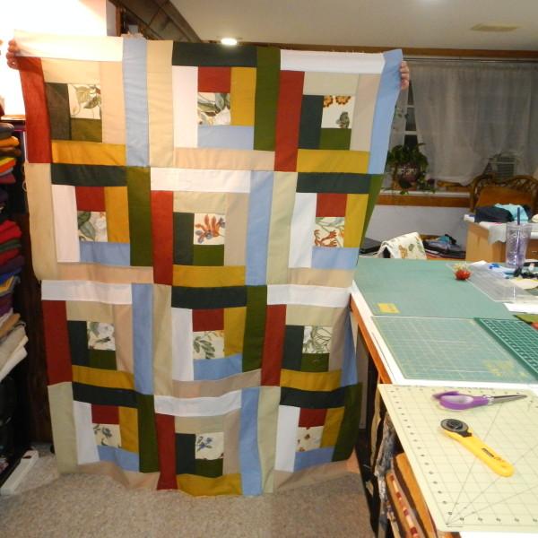 Each quilt is unique!